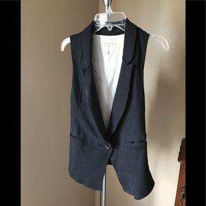 Cotton stretch vest